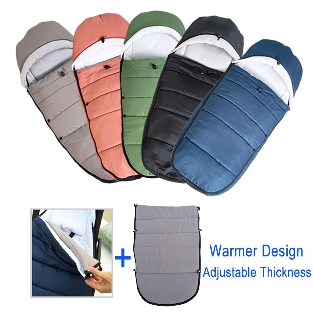 Universal Baby Stroller Accessories Waterproof Sleepsacks Sleeping Bag Warm Footmuff Socks For Babyzen YOYO 2 YOYO2 Pushchair