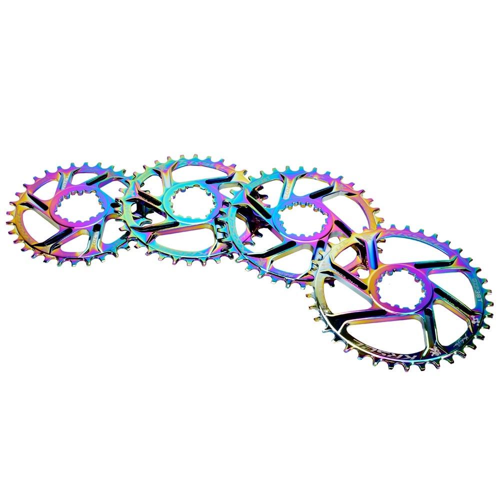 Cadena de bicicleta MTB de colores estrecho ancho GXP cadena 32T 34T 36T 38T para GXP XX1 X9 XO X01 gx Eagle Rainbow NX Cigüeñal
