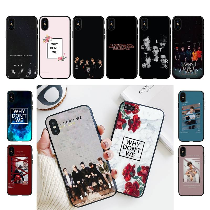 YNDFCNB Why Dont Do Not We WDW Phone Case For iPhone 11 8 7 6 6S Plus X XS MAX 5 5S se 2020 11 12pro max iphone xr case