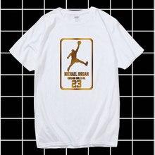 Été nouvelle marque vêtements 23 hommes T-shirt Swag T-Shirt coton impression hommes T-shirt Homme Fitness Camisetas Hip Hop T-Shirt