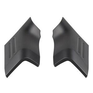 2Pcs Matte Black Hood Angle Wrap Protector Cover for Suzuki Jimny 2019-2020