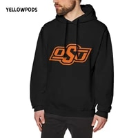 yellowpods oklahoma state wild mens pullover hoodie dad men soft hoodies adult unisex sweatshirt