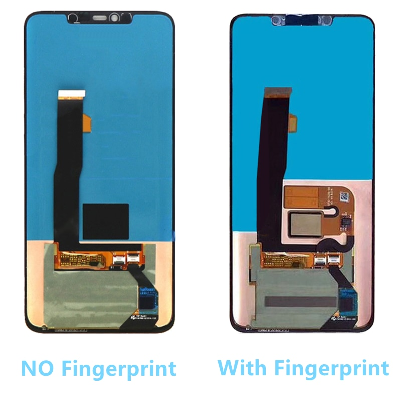6.39'' Mate20 Pro Display with frame Replacement for Huawei Mate 20 Pro LCD Display Touch Screen Digitizer Repair Parts enlarge