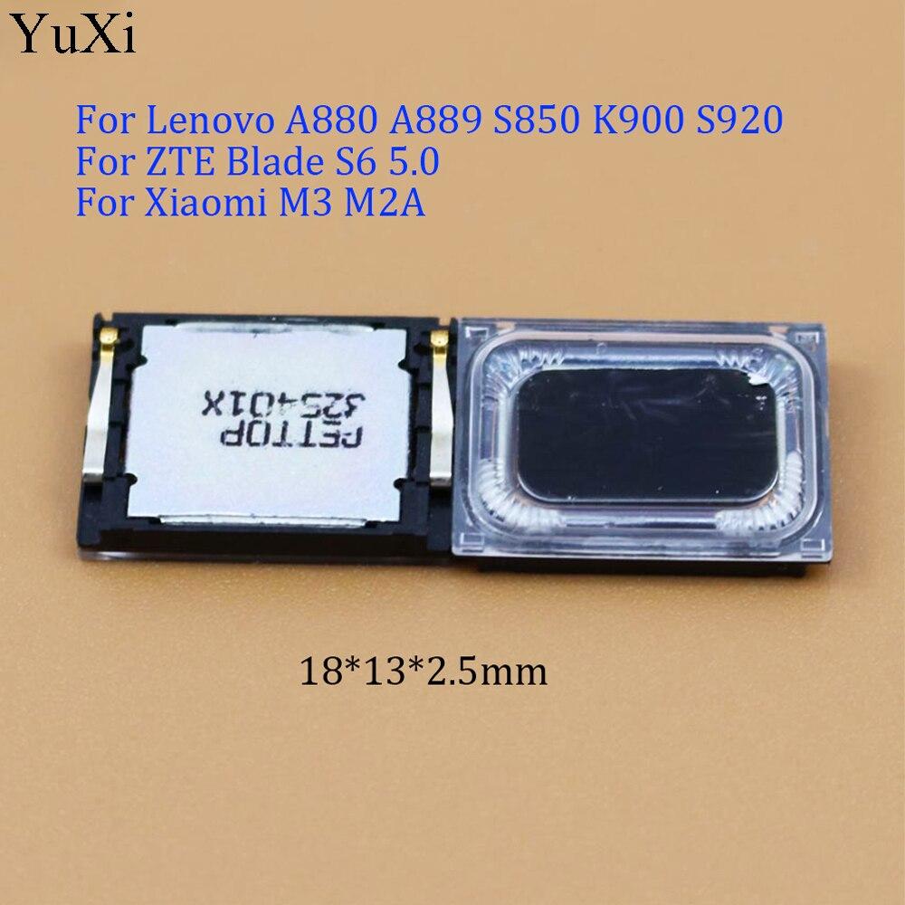Yuxi universal alto-falante buzzer para lenovo a880 a889 s850 k900 s920/para zte lâmina s6 5.0/para xiaomi m3 m2a 18*13*2.5mm