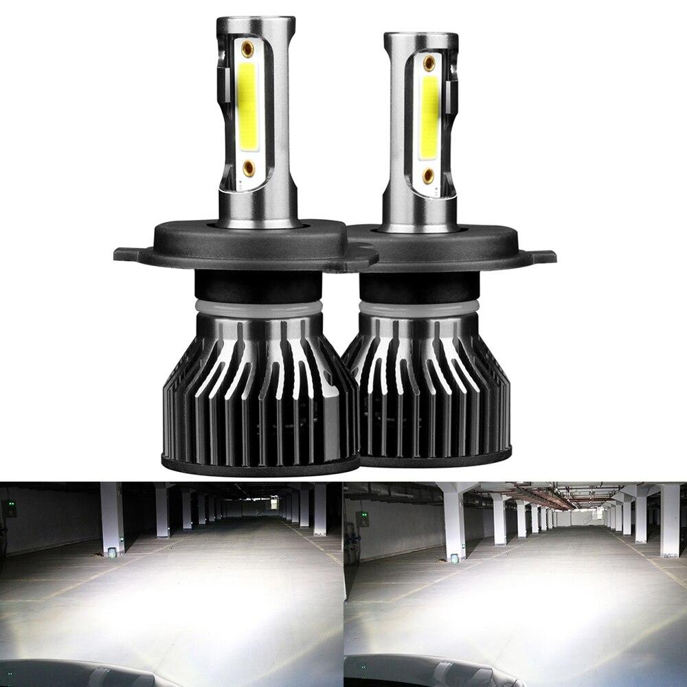 Автомобильные светодиодные лампы H11 H4 H7 H8 H9 9005 9006 9007 9004 H13 881, супер яркие автомобильные лампы HB3 HB4, универсальные автомобильные фары H1 H3