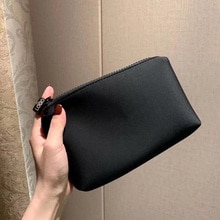 Brand Cosmetic Organizer Bag Make Up Heat Printing Cosmetic Bag Fashion Women Brand Makeup Bag Toile
