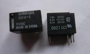 Venta al por mayor 10 unids/lote relé de G5V-1-3VDC