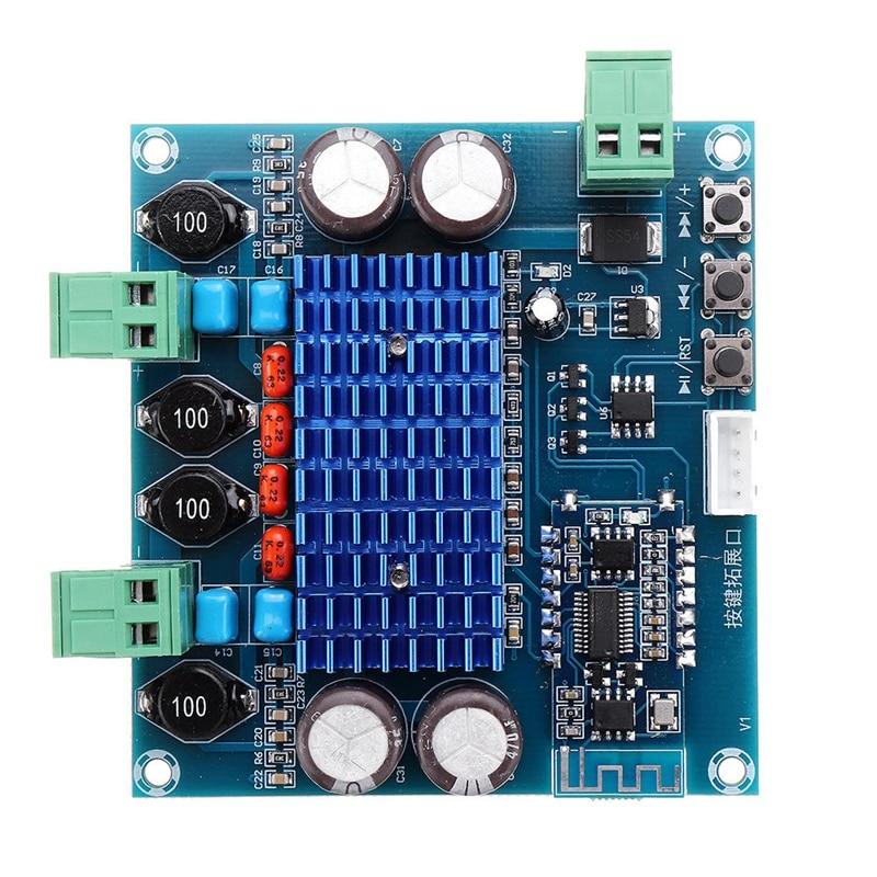 XH-A308 Wireless Bluetooth 5.0 TPA3116D2 Digital Power Amplifier Board 2X50W Stereo Audio 12V 24V AMP Module Amplificador