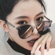 Higodoy Classic Oversized Round Sunglasses for Women Retro Sexy Luxury Brand Men Sunglass Goggle Uv4