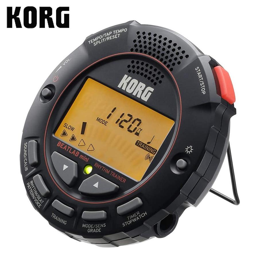 KORG Beatlab мини-ритм-тренажер (BTLMINI) метроном тренировка звук из большой громкости Подсветка ЖК-дисплей