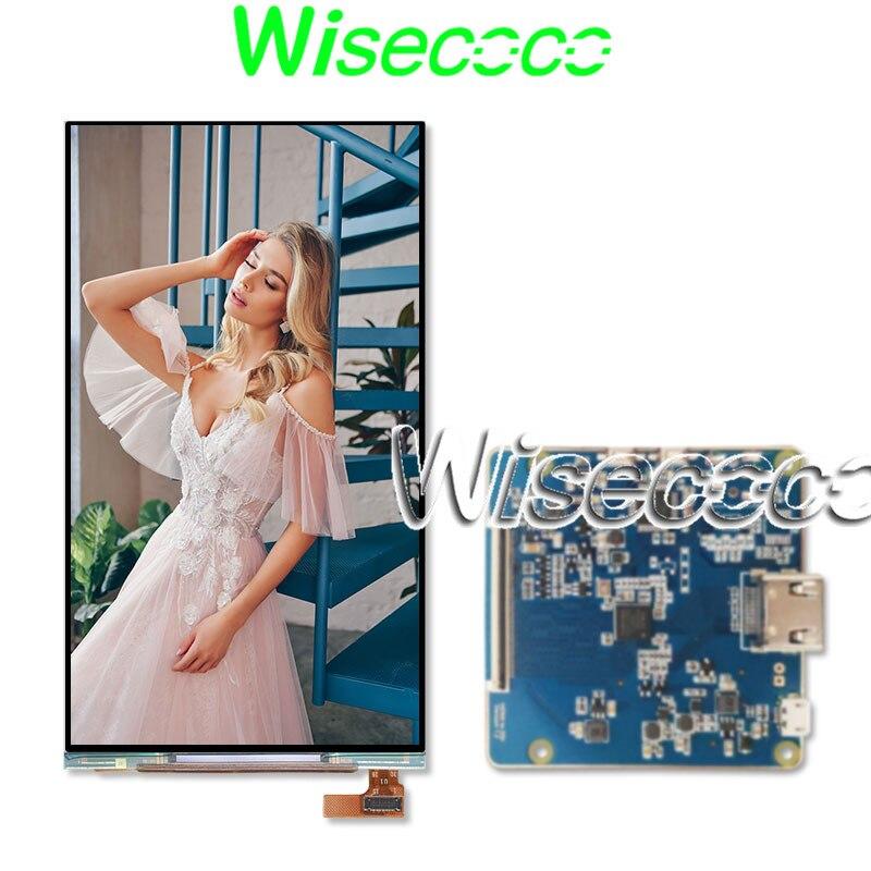 Wisecoco OLED de 5,5 pulgadas 720X1280 soy-OLED pantalla WXGA HDMI a MIPI Placa de controlador para Raspberry pi 3 pantalla 300 nits