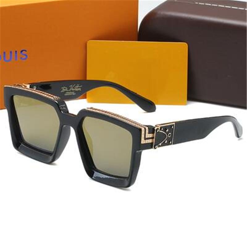 النظارات الشمسية العلامة التجارية للنساء الرجال النظارات موضة النظارات المعتاد القيادة الاستقطاب إطار مستدير الرجعية