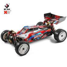 Wltoys 104001 RTR 1:10 RC Car 2.4Ghz 4WD 45km/h Metal Chassis Radio Remote Control Vehicles Model Of