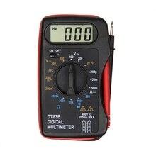 DT83B Digital-Multimeter Handheld Tester AC/DC Spannung Meter Tasche Multimeter Moderne Strom Ohmmeter Clamp Meter Tester