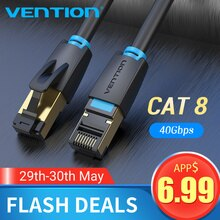 Mukavele Cat8 Ethernet kablosu SSTP 40Gbps süper hızlı kedi 8 RJ45 ağ Lan Patch kablosu yönlendirici Modem cat7 Ethernet kablosu