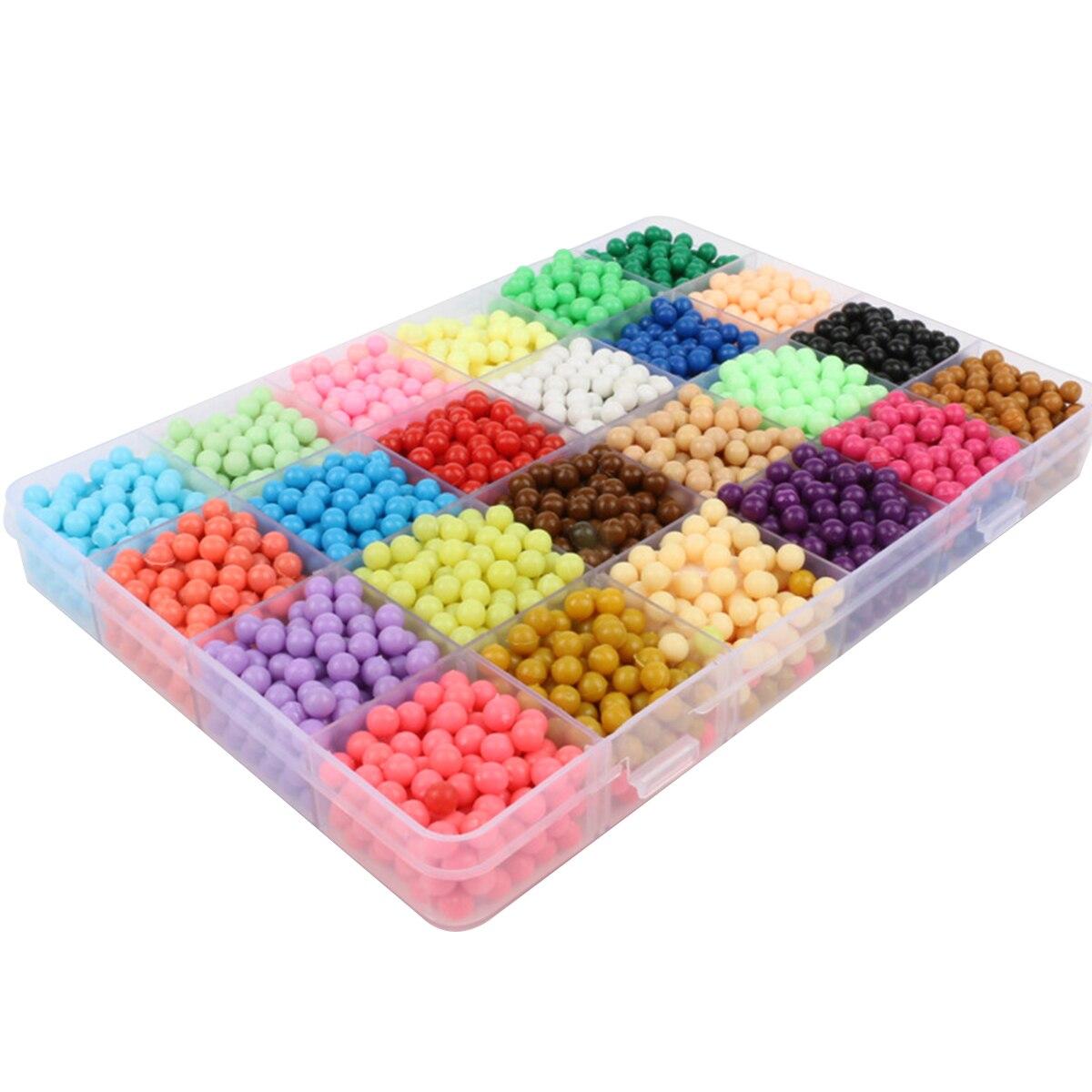 ¡Venta directa de fábrica! Perlas mágicas de niebla de agua DIY magic spray painting water puzzle niños agua sticky beads toys