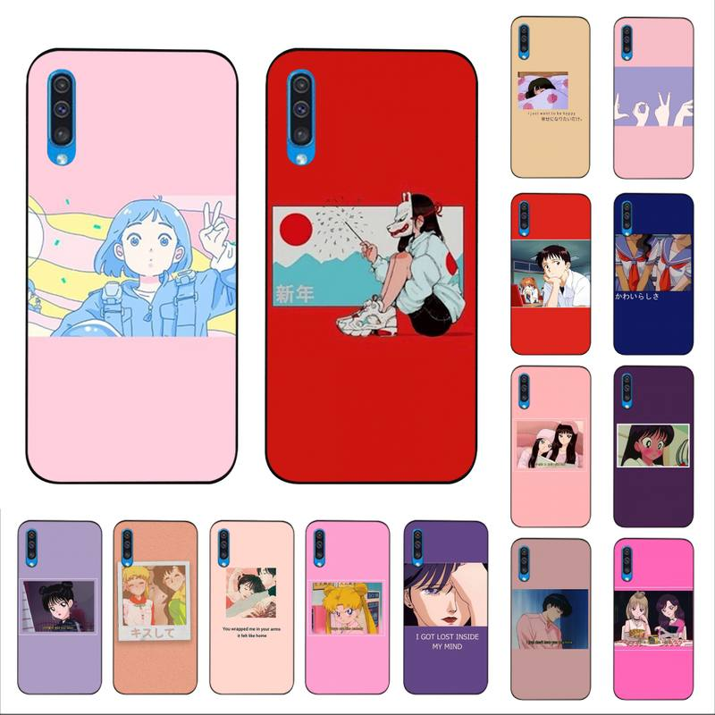 MaiYaCa, carcasa de móvil estampada DIY con anime japonés Love Friend para Samsung A10 20s 71 51 10s 20 40 50 70 A30s