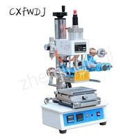 ZY-819H3 Pneumatic Hot Stamping Machine 220V/60HZ Branding Machine Crafts Trademark Business Card leather Bronzing