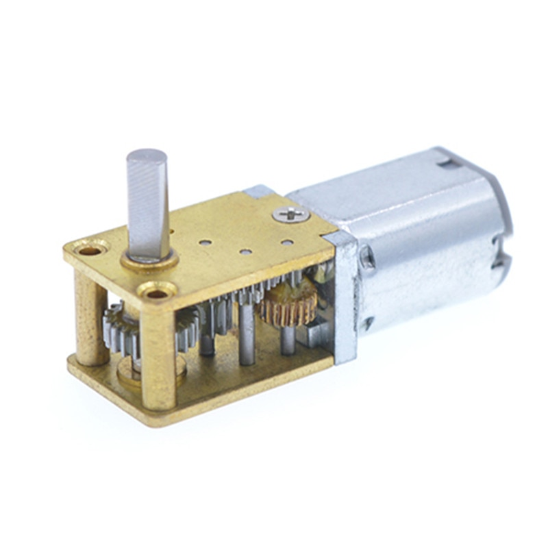 DC 3V 6V 12V микро мотор-редуктор 15/30/60/63/120 RPM низкоскоростной мотор-редуктор