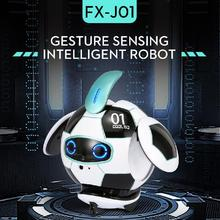 J01 Version vocale balle Robot 2.4g à distance avec infrarouge évitement dobstacles reconnaissance vocale Robot Intelligent balle jouet électrique