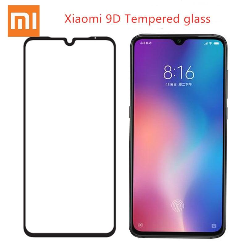 9 d capa completa de vidro temperado xiaomi redmi note 9 8 7 pro 9s 8t protetor de tela redmi 9a 8 7 7a 9 8a frente película protetora