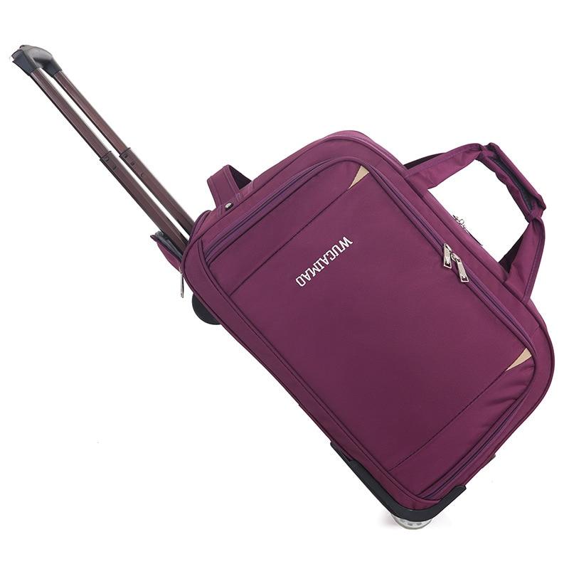 Maleta JULYS DOSAC, bolsa de equipaje de viaje con ruedas, Maleta de gran capacidad, bolsa de viaje multifuncional, bolsa de fin de semana