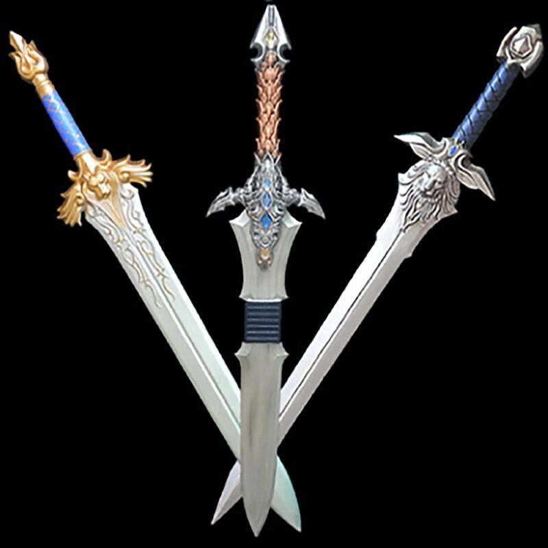 11 Espada de Pu arma Prop Cosplay Llane Pu cuchillo samurái de goma Espada Katana Espada niños simulación armas de juguete para adolescentes