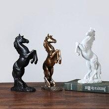 Style nordique cheval Statue créative Animal Statue résine artisanat imitant Antique vin armoire décoration maison accessoires de mariage