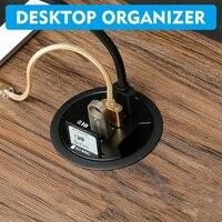 Встраиваемый в столешницу USB-хаб