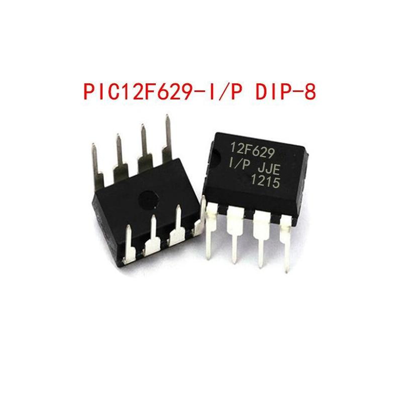 1pcs/lot PIC12F675-I/P 12F675 PIC12F675 = PIC12F629-I/P PIC12F629 12F629 SAME DIP-8 In Stock
