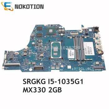 NOKOTION L87453-001 L87453-601 SNAPE01-6050A3168901-MB-A02 For HP 17-BY Laptop Motherboard SRGKG I5-1035G1+MX330 2G