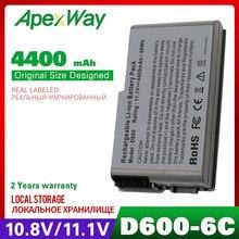 11.1V batterie dordinateur portable pour Dell Latitude D500 D600 Série D505 D510 D520 D530 D610 4M010 4P894 6Y270 9X821 BAT1194 C1295 C2603