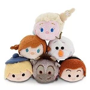 New Arrival Elsa Anna Olaf Snowman Sven Kristoff Hans Mini Plush Toy Christmas Gift Collection