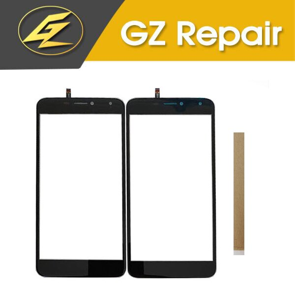 For BQ Mobile BQ-5520 BQ5520 BQ 5520 Mercury BQS 5520 BQS5520 Touch Screen Sensor Glass Digitizer With Tape