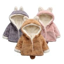 Newborn baby winter clothing baby girl clothing soft wool coat boy girl newborn wool Hooded Coat fem