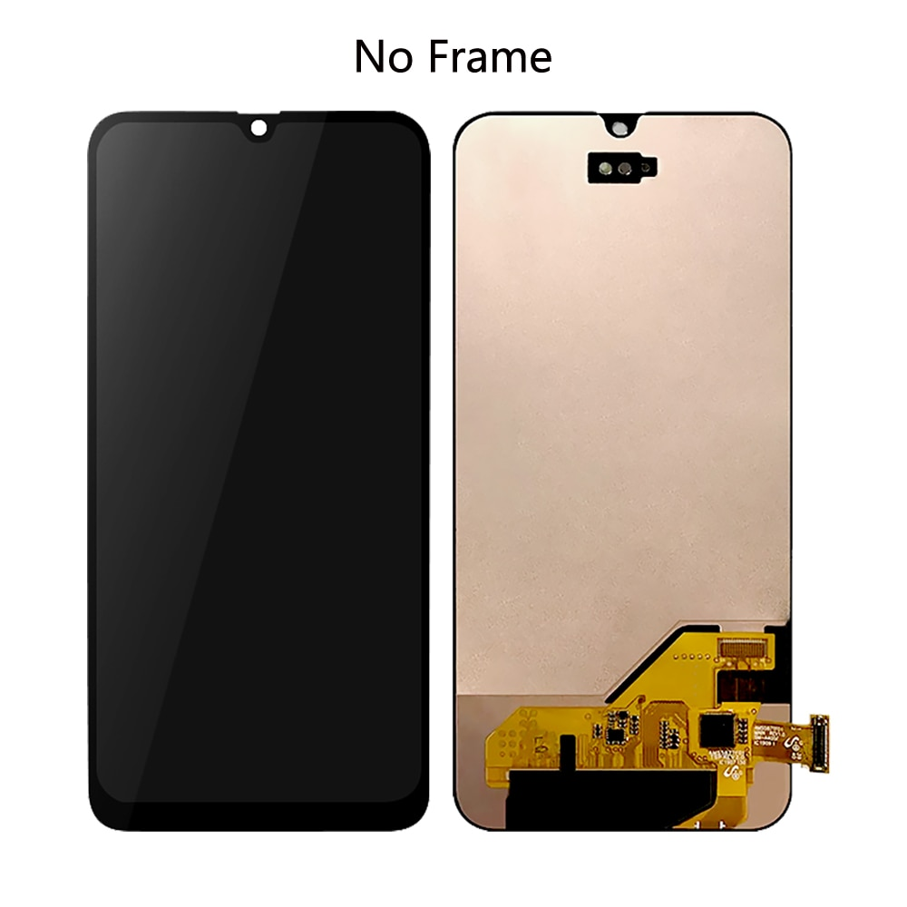 For Samsung A40 2019 A405 AMOLED Lcd Screen Touch Screen Digitizer Assembly Phone For Samsung A40 2019 Parts Repair LCD Display enlarge