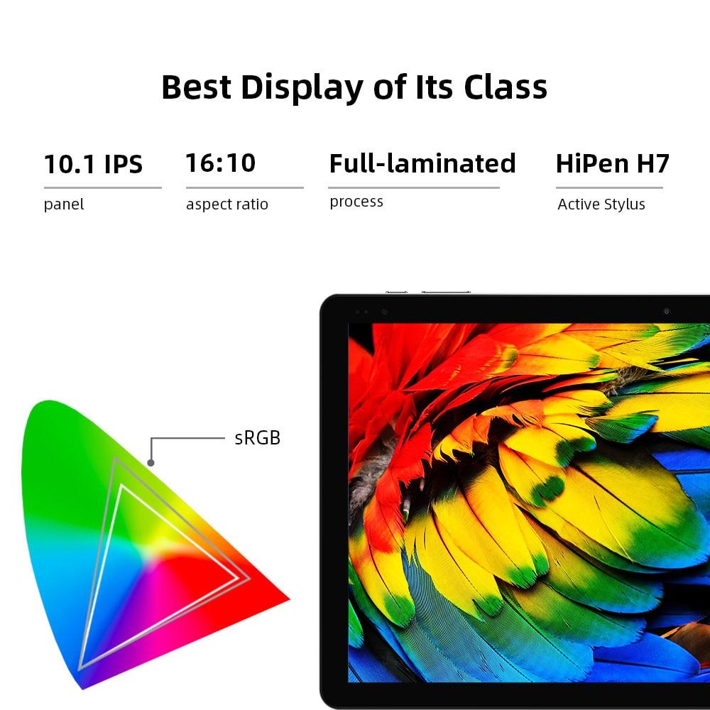 CHUWI Hi10 X 10.1 inch Tablet 1920*1200 Intel N4120 Quad Core 6GB RAM 128GB ROM Tablets PC Windows 10 Dual Band 2.4G/5G Wifi
