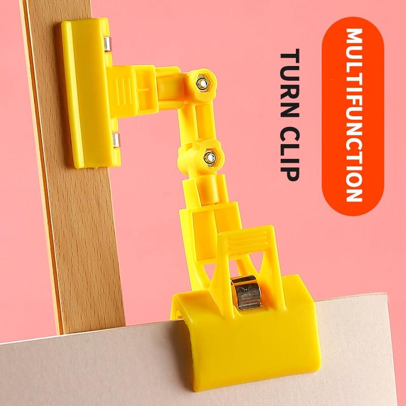 1 pieza de doble cabeza Multi-función Clip de dirección 360 ° girar foto/teléfono/Clip de papel soporte de pantalla de plástico soporte arte suministros