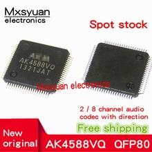 1PCS ~ 10 TEILE/LOS AK4588VQ AK4588 QFP80 Neue original 2 / 8 kanal audio codec chip mit richtung