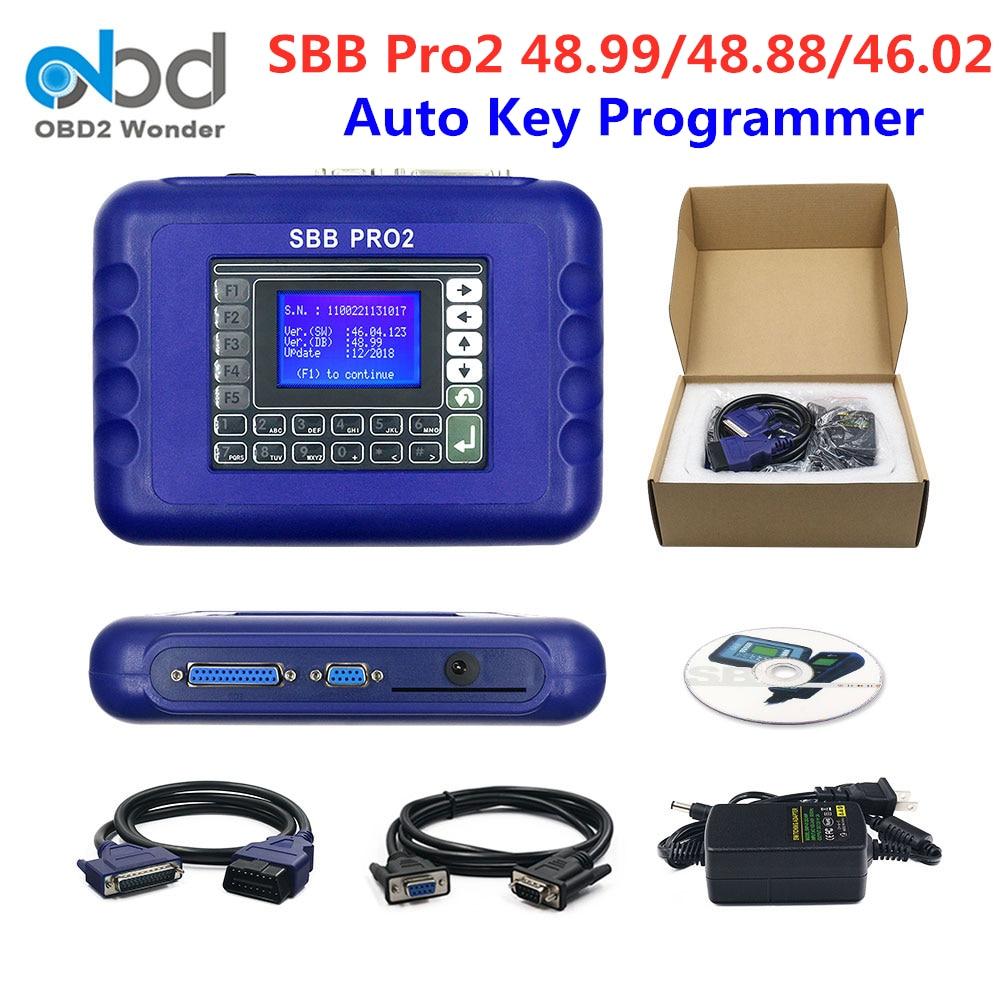 2020 SBB Pro2 Key Programmer V48.88 V48.99 V46.02 Support Cars To 2018 SBB Pro 2Mini Zedbull V508 Ke