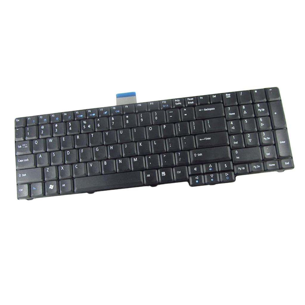 Teclado de repuesto con diseño inglés de EE. UU. Para Acer Aspire 7230 7530 7530G 7630 7730 7730G Series nuevo