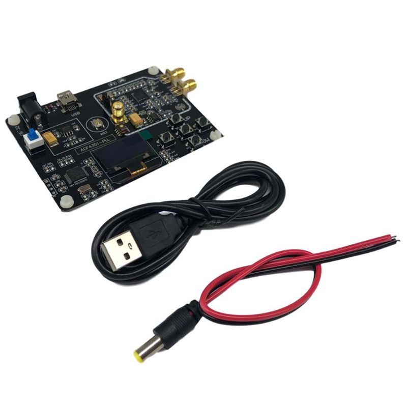 مولد إشارة 35M-4.4G RF ADF4351, وحدة عرض OLED بتردد مسح مع كابل USB
