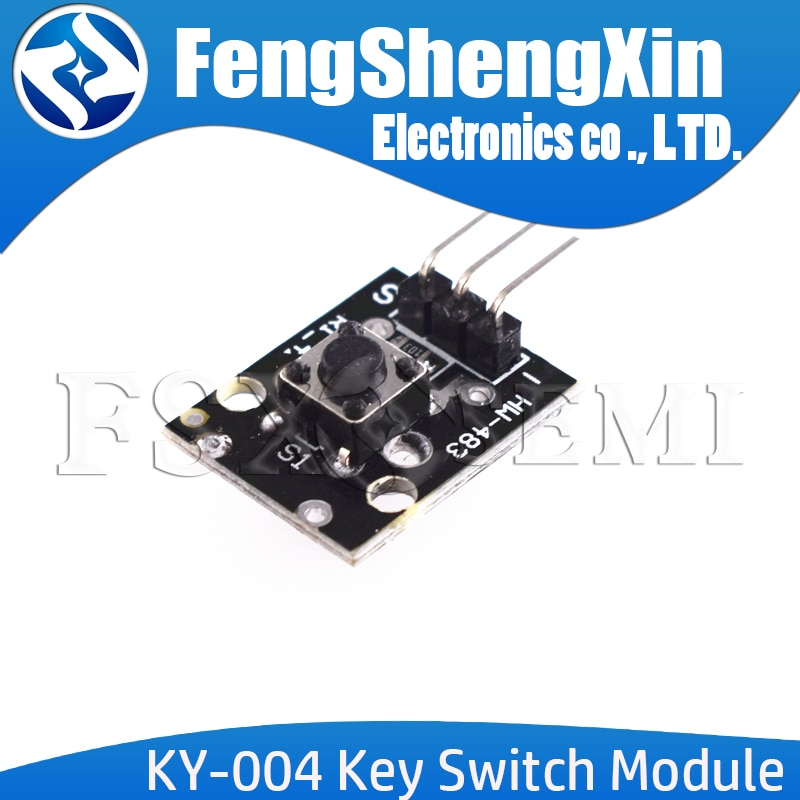1pcs KY-004 Key Switch Module For Arduino AVR PIC UNO MEGA2560 Breadboard