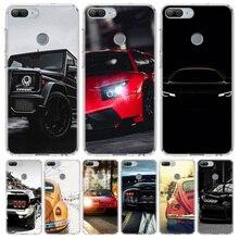 Sport Autos Männlichen Männer Abdeckung Telefon Fall für Huawei Y5 Y6 Y7 Y9 2019 Ehre 8A 8S 8X 7A 7X 9 10 20 Lite Pro 10i20i V30 Coque Shell