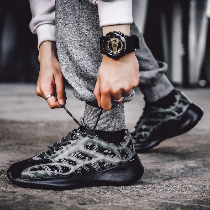 2020 Hot Koop Men Casual Schoenen Lace-Up Schoenen Mannen Comfortabele Lente Wandelen Sneakers Licht Footwears Zapatillas Trainers Tenis12