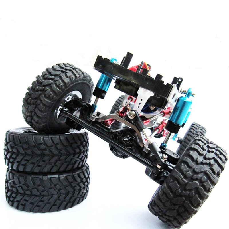 wpl c24 upgrade Rc car parts wpl upgrade DIY Upgrade Parts Set Shock Sbsorbers Extension Seat for RC CAR WPL Truck C14 C24 enlarge
