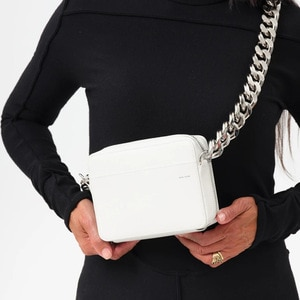 Luxury Women Totes Thick Metal Chain Shoulder Bag Bike Wallet Handbags Bag Coin Purse Fashion Women Pack Leather Crossbody Bags