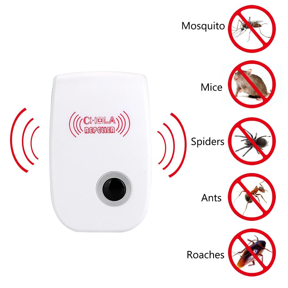 Ultrahangos kártevőirtó elektronikus szúnyogriasztó - Kerti termékek - Fénykép 4