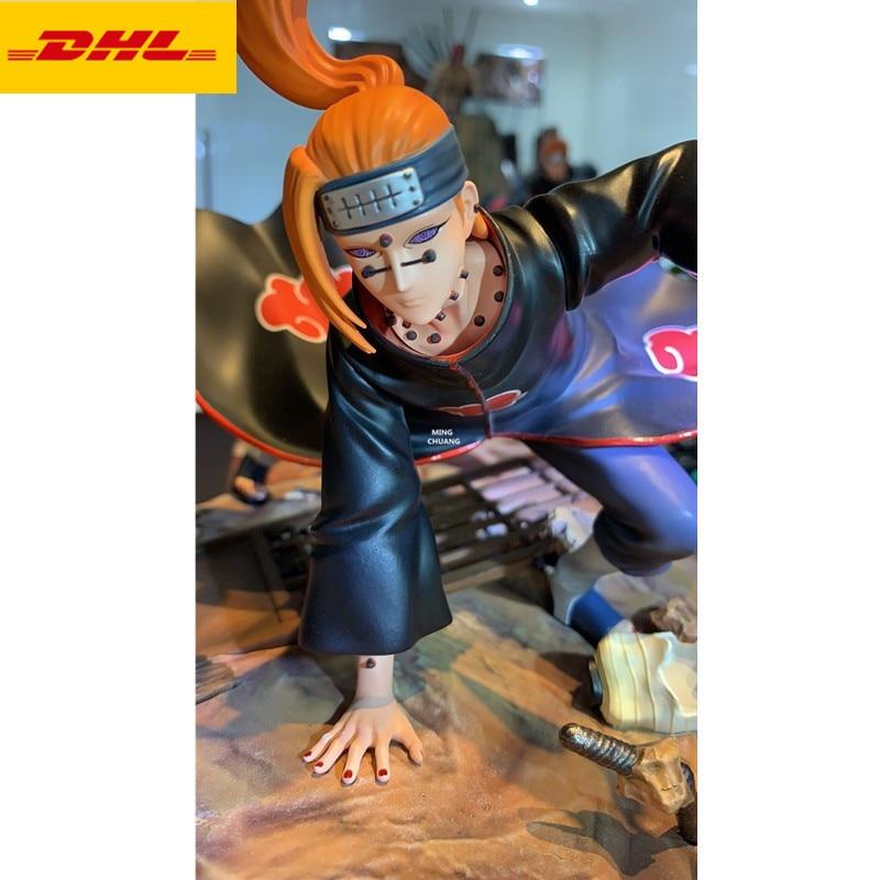 "9"" Anime NARUTO Statue Akatsuki Bust Pain Full-Length Portrait Creative Holiday Gift GK Action Figure Toy BOX 24CM V572"