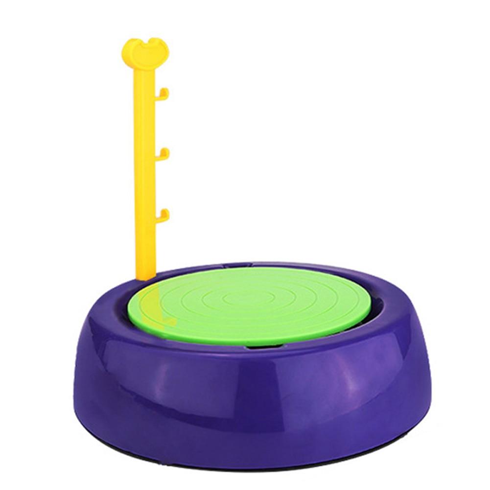 Artesanía regalo eléctrico artes educativos Mini niños máquina de hacer cerámica plástico cerámica rueda Handmake portátil niños DIY Juguetes